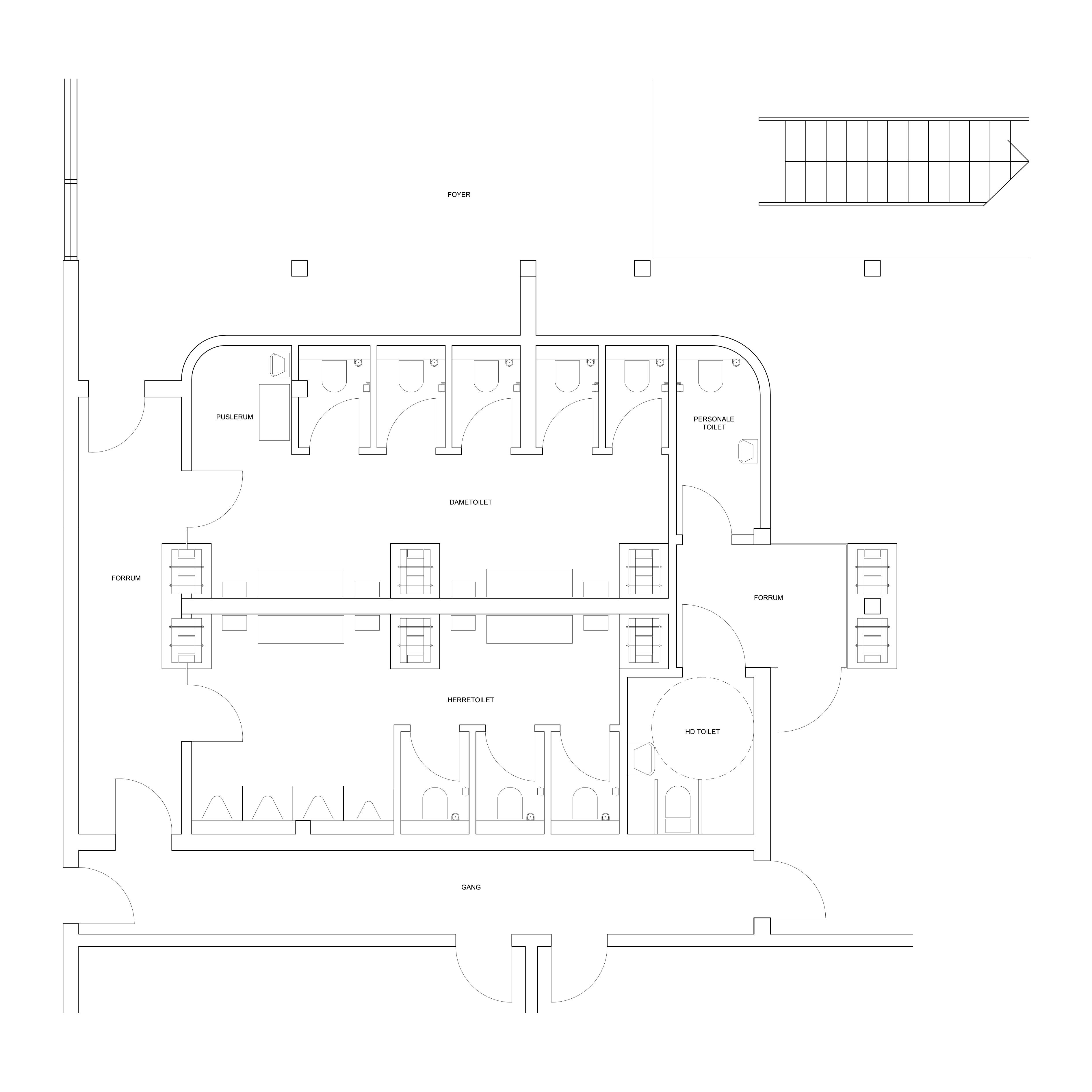 T:2014 Østerbrohuset7 Tegninger7.01 Gældende Tegninger i
